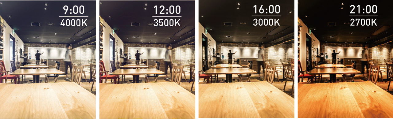 「Tunable LEDZ」で空間まるごと調光調色が可能